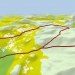 Geplande route